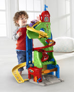 Fisher Price Little People Sit 'n Stand Skyway playset - We Got Character