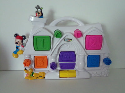 Disney Activity Center Pop Up Toy-We Got Character