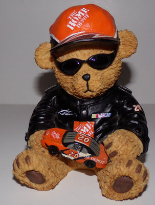 The Home Depot NASCAR Tony Stewart Bear Bank - We Got Character