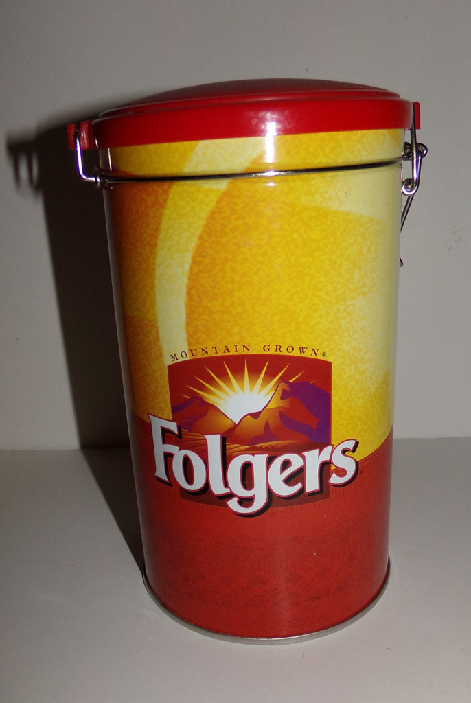 Folgers Coffee Can Canister