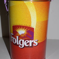 Folgers Coffee Can Canister - We Got Character