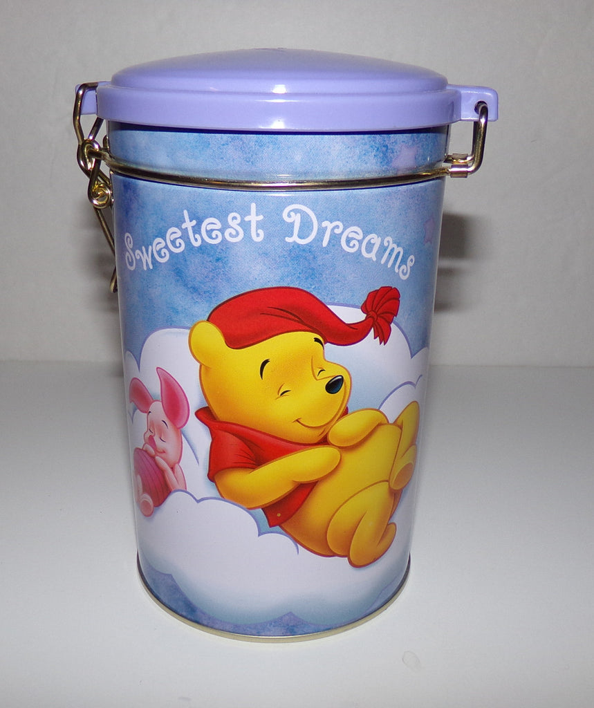Winnie The Pooh Sweet Dreams Canister Tin