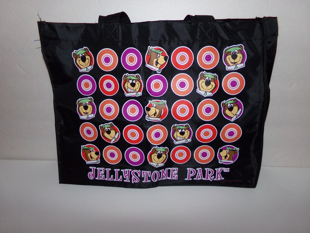 Black Jellystone Park Tote Bag-We Got Character