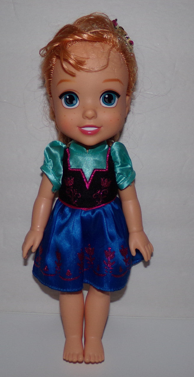 "Disney Frozen Princess Toddler Anna Doll 13"" - We Got Character"
