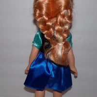 Disney Frozen Princess Toddler Anna Doll 13""