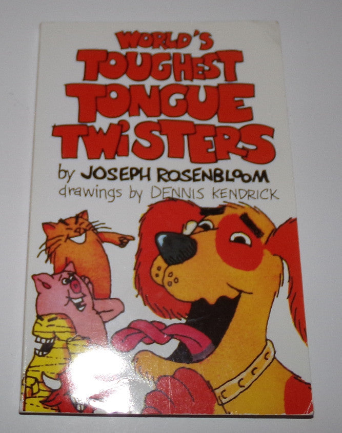 World's Toughest Tongue Twister PB Book Sterling - We Got Character