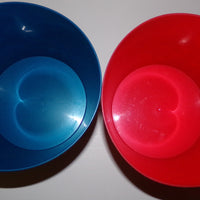 Lot of 2 M&M Popcorn Candy Bowls