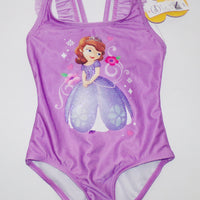 Disney Sofia the First 1 Piece Swimsuit-We Got Character