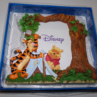 Disney Winnie The Pooh & Tigger Camping Picture Frame-We Got Character
