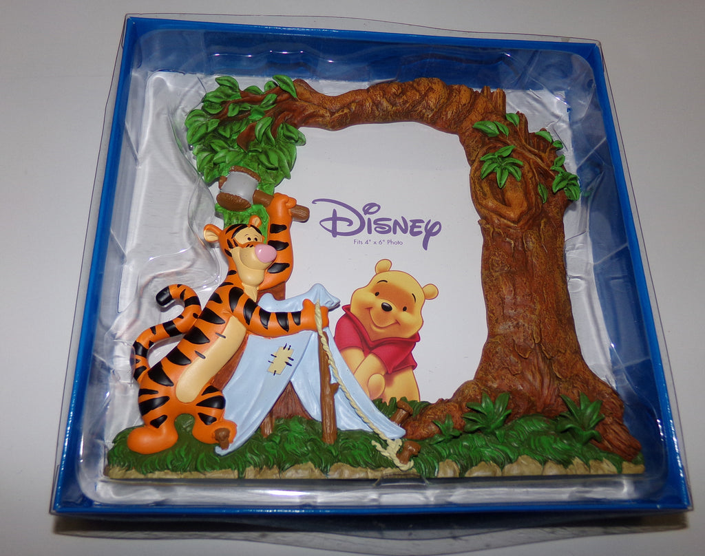Disney Winnie The Pooh & Tigger Camping  Picture Frame