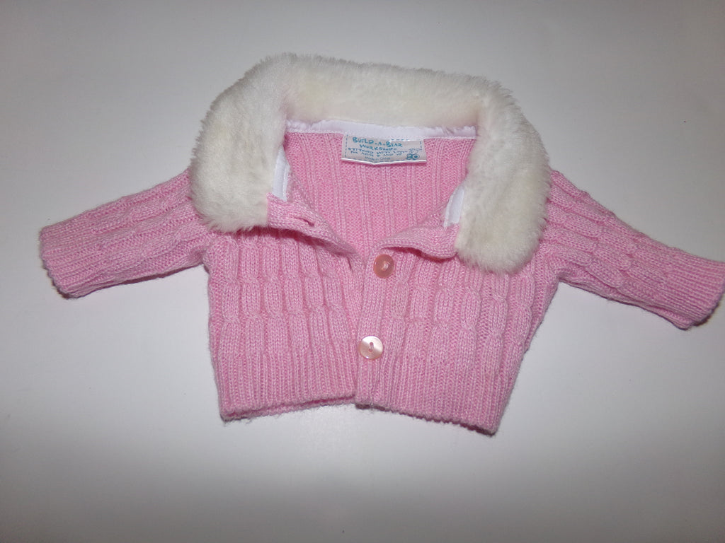 Build A Bear Pink Sweater - We Got Character