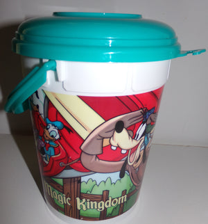 Disney Magic Kingdom Souvenir Snack Container-We Got Character