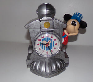 Mickey Mouse Train Alarm Clock With Lights & Sound-We Got Character