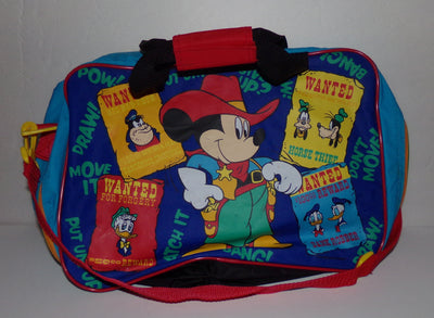 Mickey Mouse Cowboy Tote Bag Luggage Suitcase - We Got Character