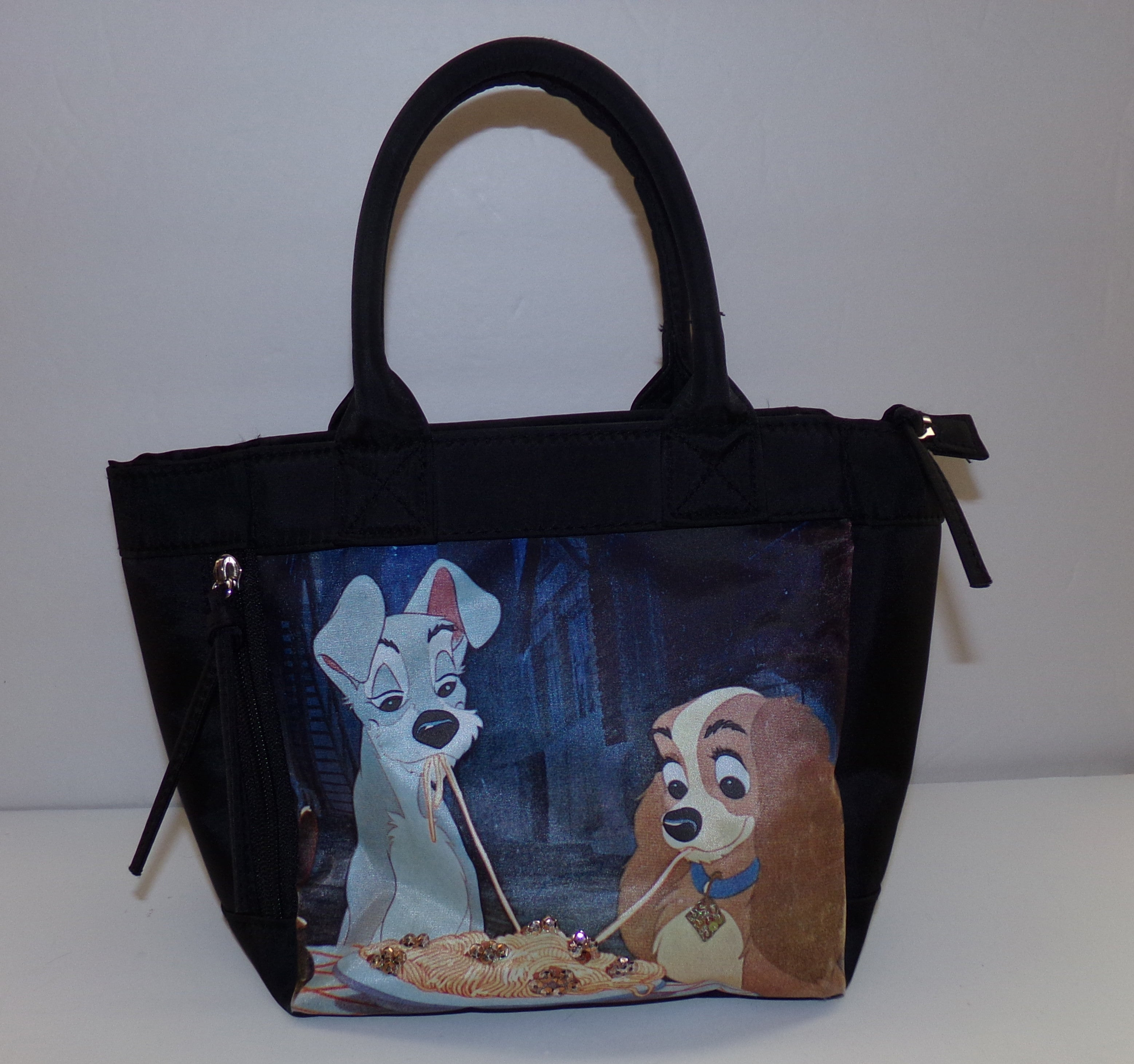 Black Disney Lady And The Tramp Purse - We Got Character
