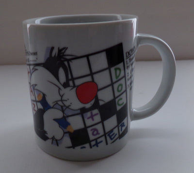 Sylvester Crossword Puzzle Cup-We Got Character