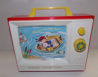Fisher Price Two Tunes Television T.V. - We Got Character