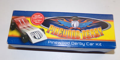 Pinewood Derby Car Kit - We Got Character
