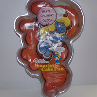 Wilton Smurfette Cake Pan-We Got Character