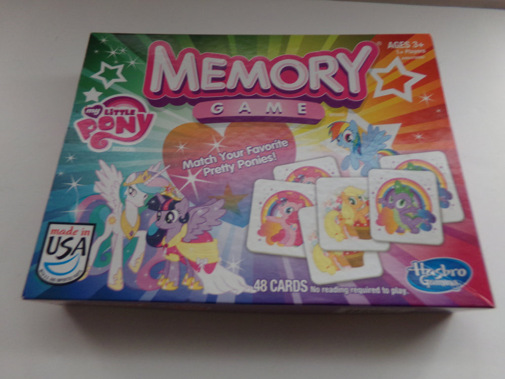 My Little Pony Memory Match Game-We Got Character