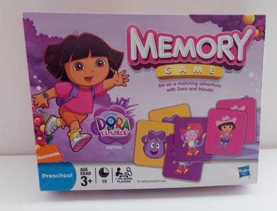 Dora The Explorer Memory Match Game - We Got Character