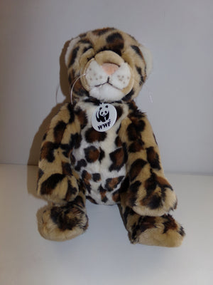 WWF BABW Build A Bear Spotted Snow Leopard - We Got Character