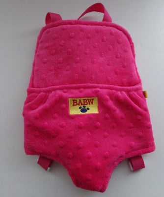 BABW Build A Bear Doll Carrier-We Got Character