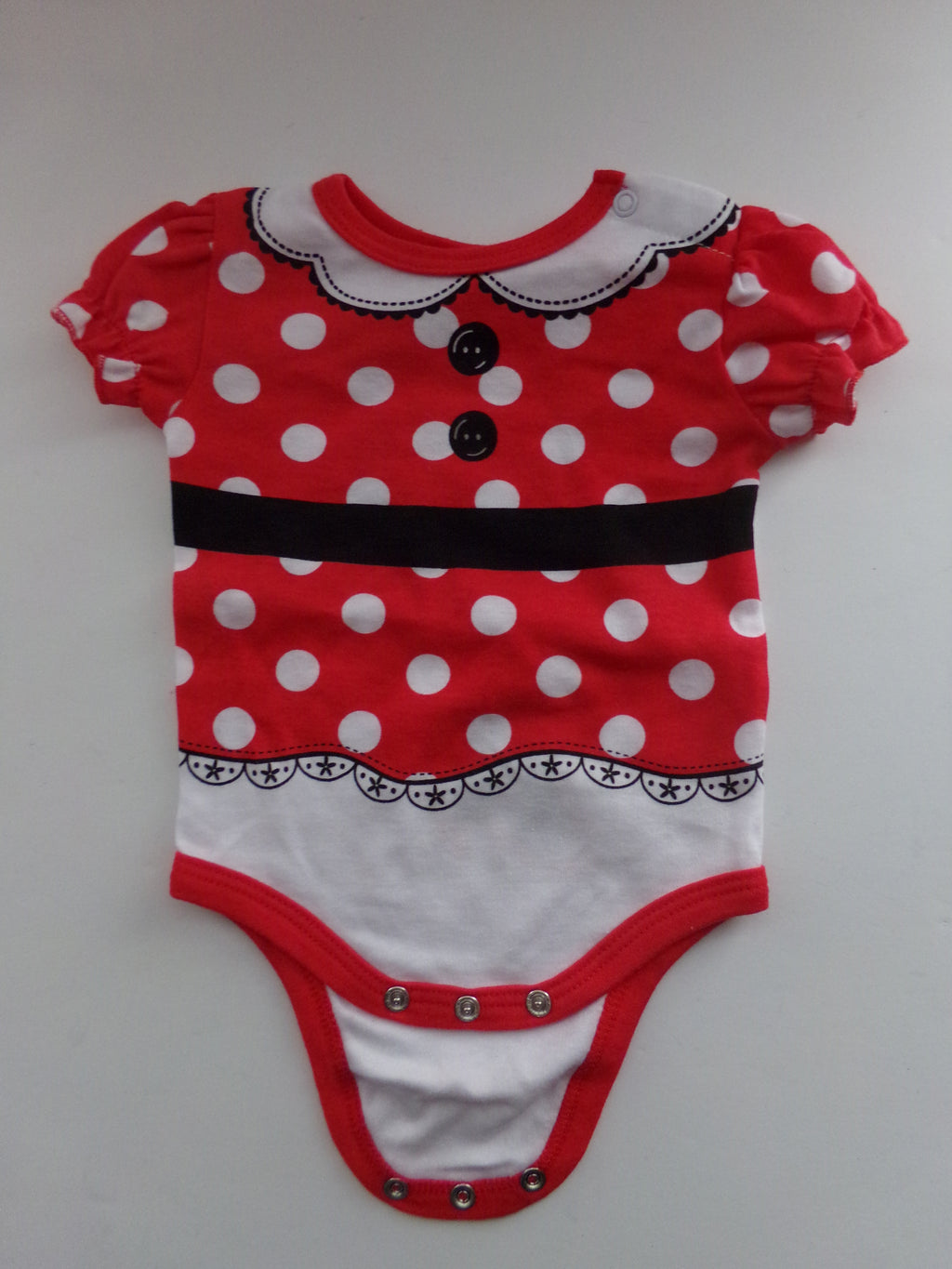 Disney Baby Minnie Mouse One Piece Body Suit-We Got Character