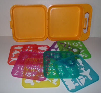 Tupperware Stencils & Case Box - We Got Character