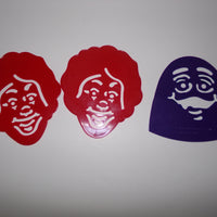 Lot of 3 McDonald's Stencils-We Got Character