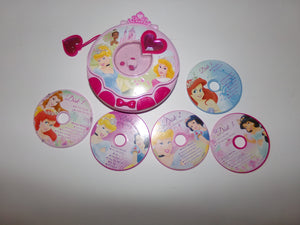 Disney Princess Toy Music CD Player & 5 Disk - We Got Characer