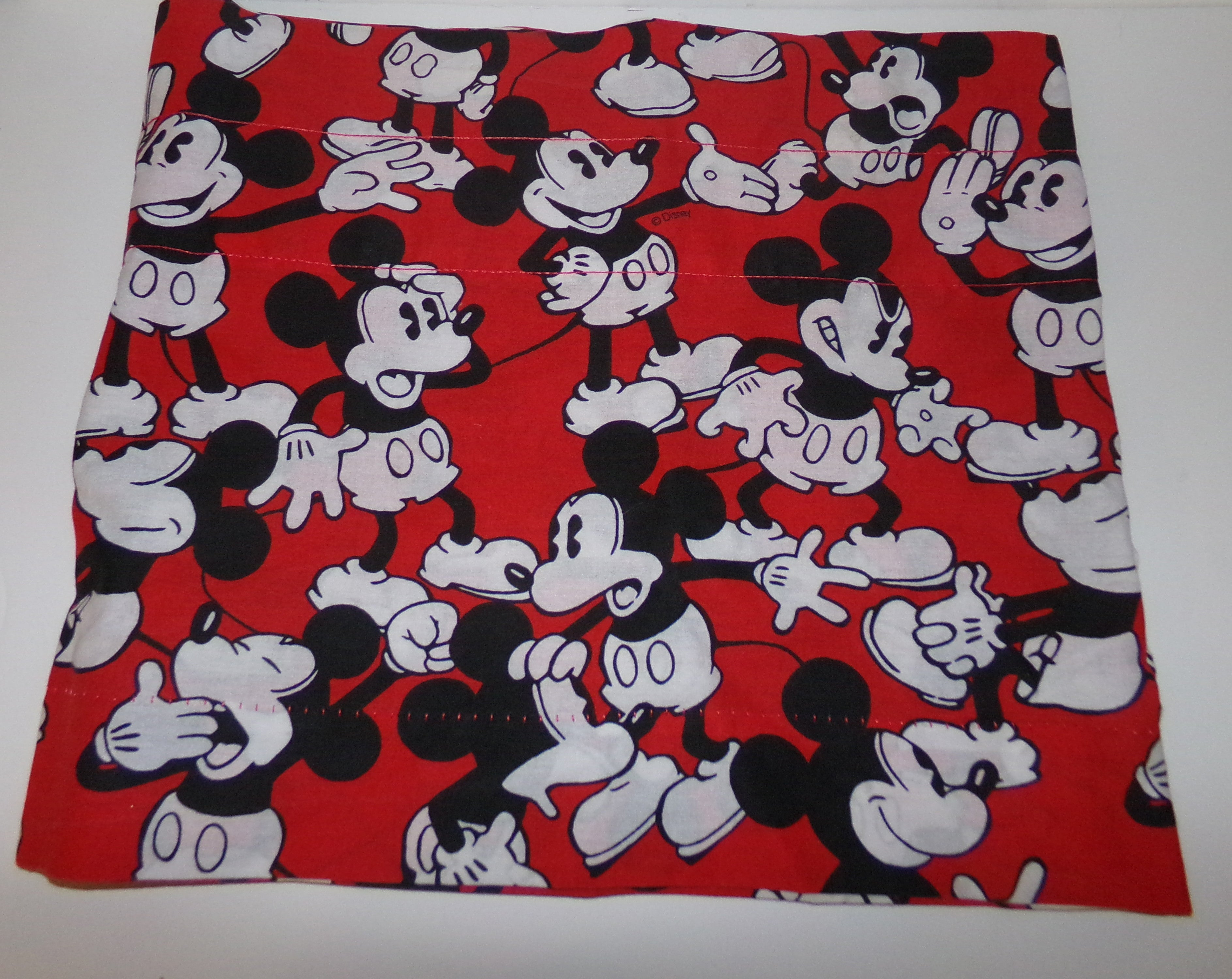 Red Disney Mickey Mouse Valance We Got Character