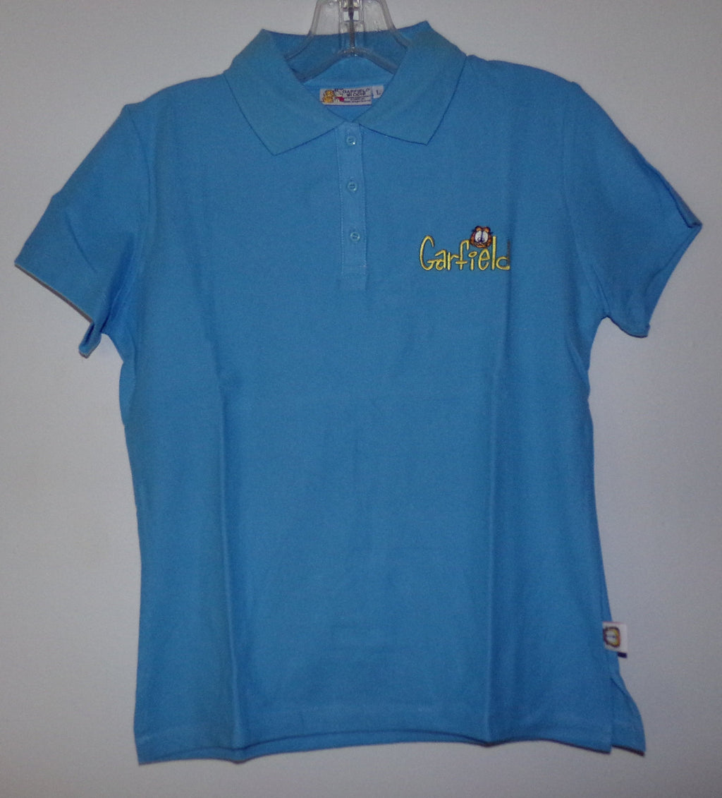 Garfield Odie Blue Polo Shirt - We Got Character