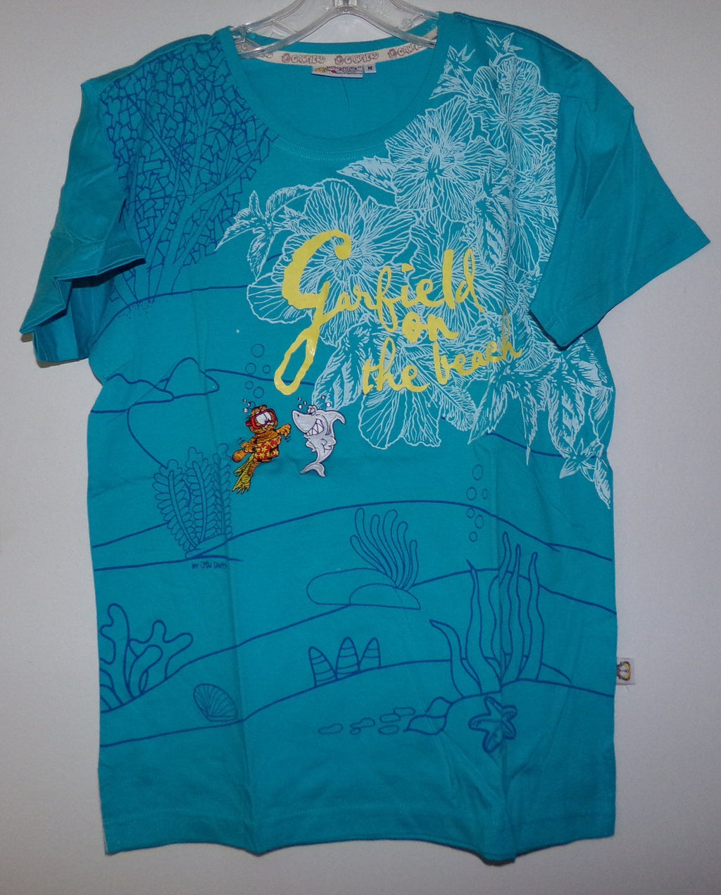 Garfield Blue T Shirt