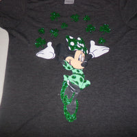 Disney Minnie Mouse St Patricks Day Shirt-We Got Character