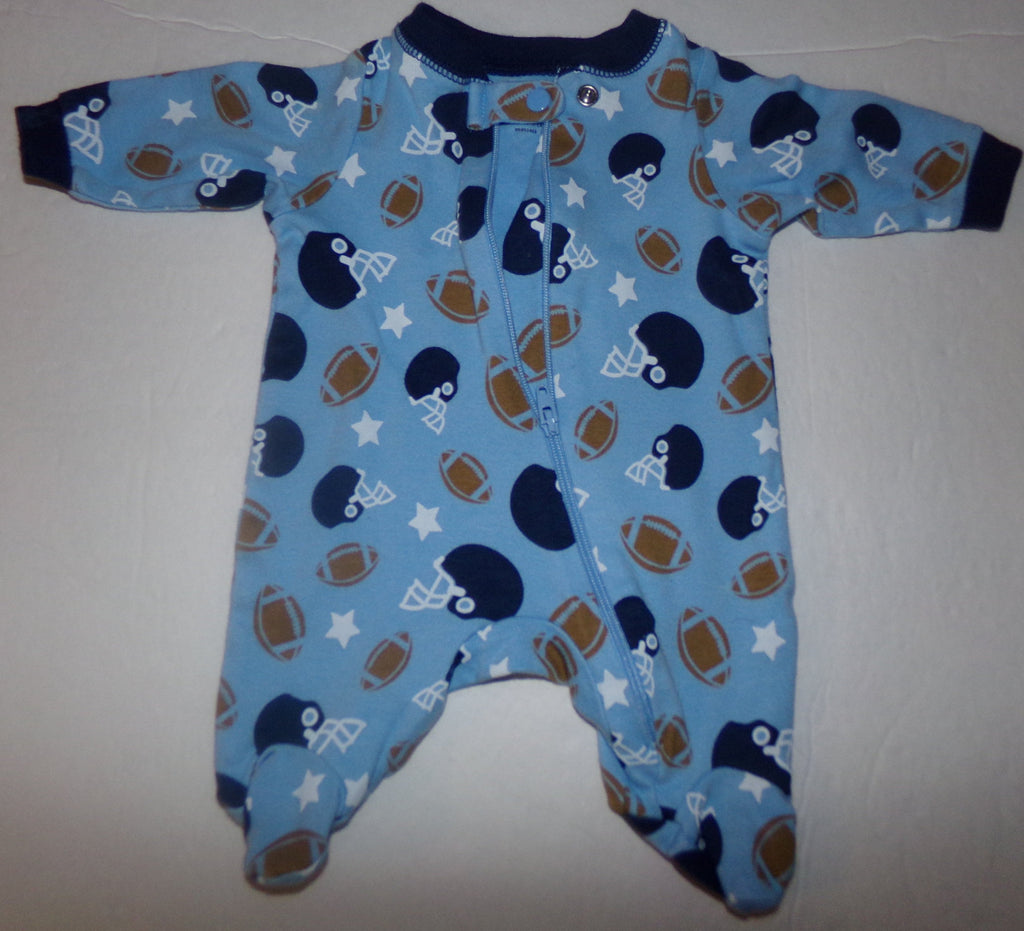 Lot of 2 Preemie Baby Boy Pajamas-We Got Character