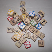 Melissa and Doug Disney Wooden Blocks - We Got Character
