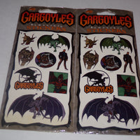 Gargoyles Stickers Lot of 2-We Got Character