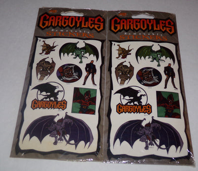 Gargoyles Stickers Lot of 2 - We Got Character