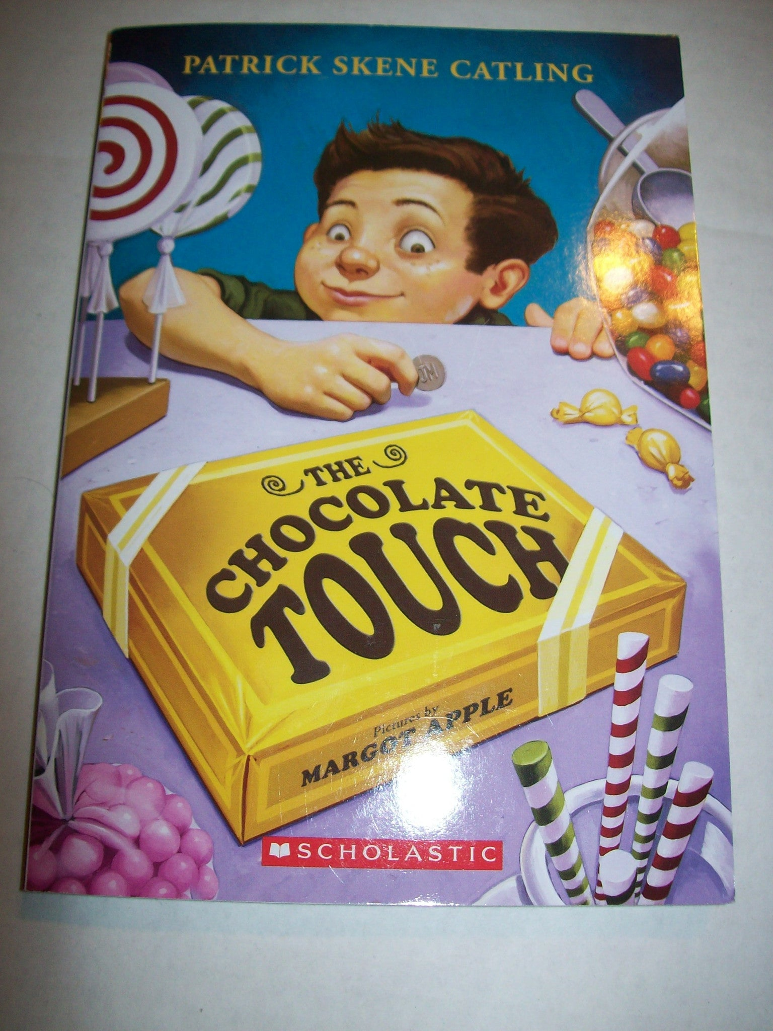 The Chocolate Touch Patrick Skene Catling PB Book | We Got Character