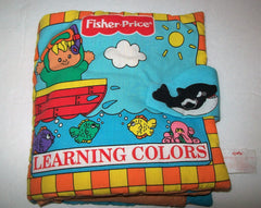 Fisher Price Cloth Activity Book Learning Colors - We Got Character