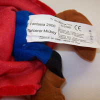 Mickey Sorcerer Fantasia Plush 2000