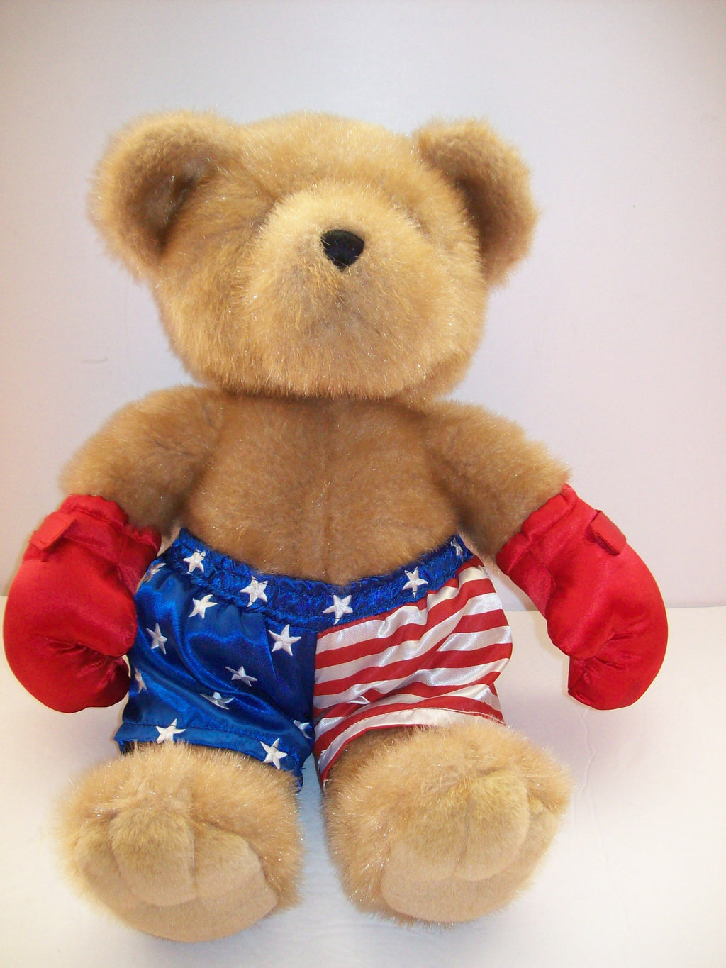 Dillard's Boxing Teddy Bear Plush - We Got Character