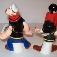 Popeye and Olive Oyl Salt and Pepper Shakers