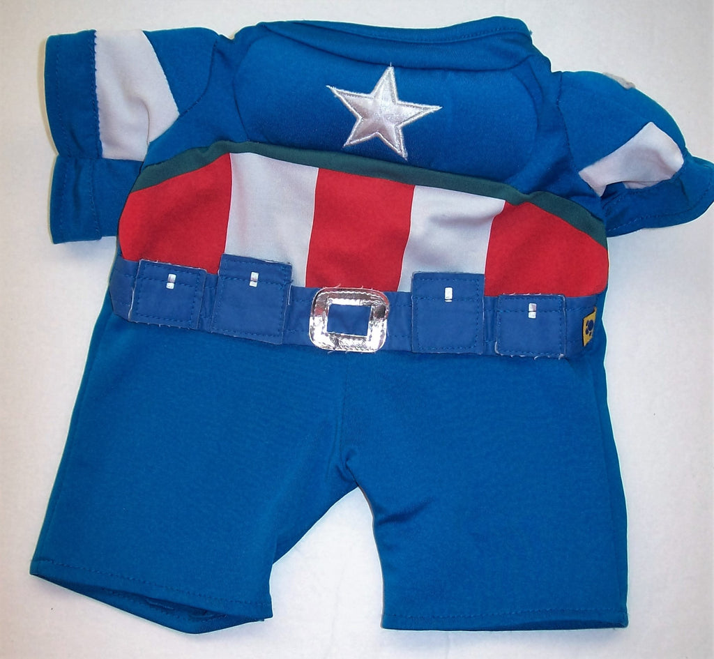 Build a Bear Captain America Outfit-We Got Character