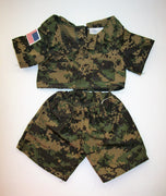 Build A Bear Army Outfit - We Got Character