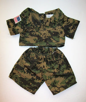 Build A Bear Army Outfit-We Got Character