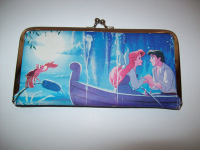 The Little Mermaid Kiss The Girl Clutch Purse