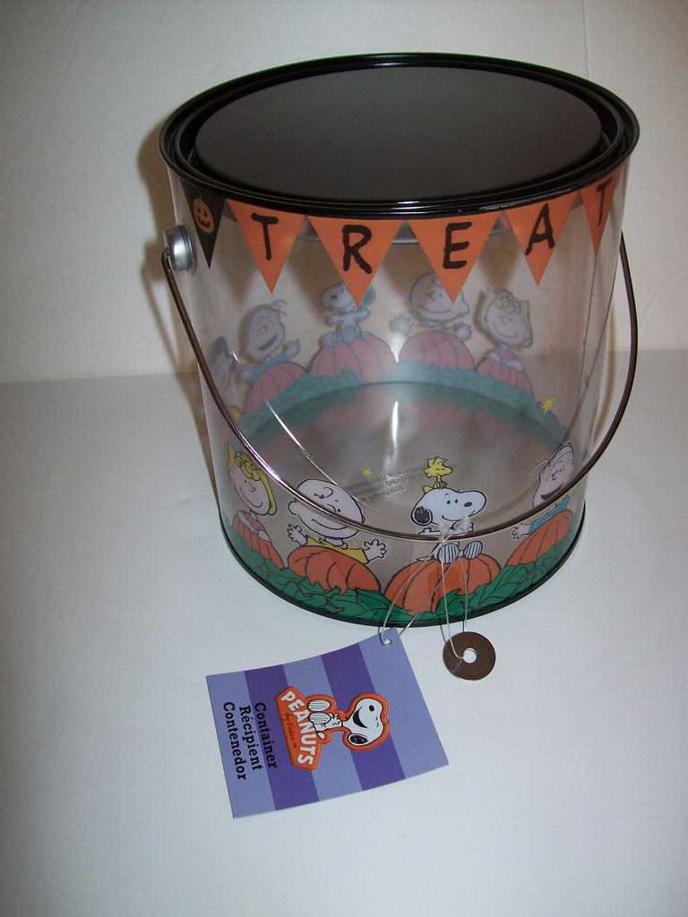 Peanuts Trick or Treat Paint Can Decoration