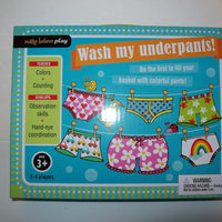 Wash My Underpants Game Make Believe Play